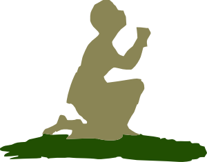 Kneeling Praying God Clip Art at Clker.com.