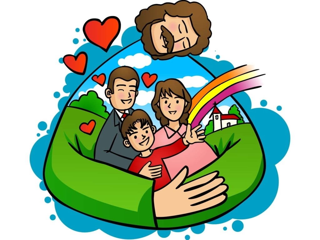 God's family clipart.