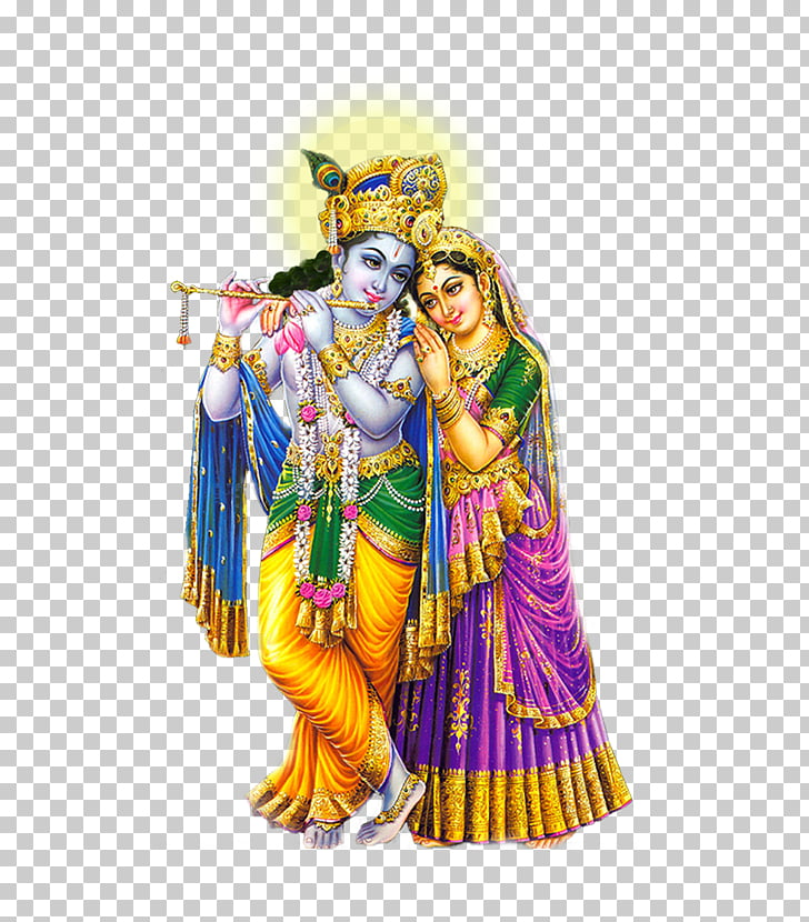 Radha Krishna, Lord Krishna Hd, two Hindi Gods illustration.