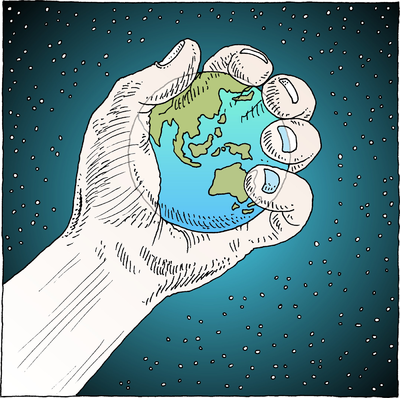 Image: World In Hand.