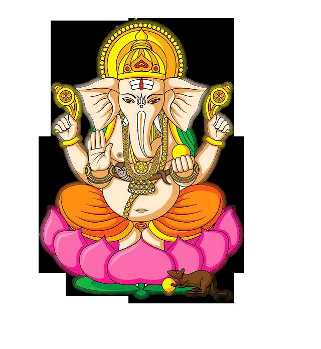 Transparent Clipart Image Hindu God Ganesha clipart Five.