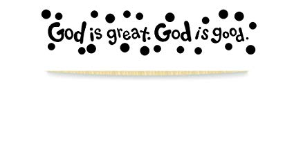 Amazon.com: Design with Vinyl RAD 983 1 God is Great God is.