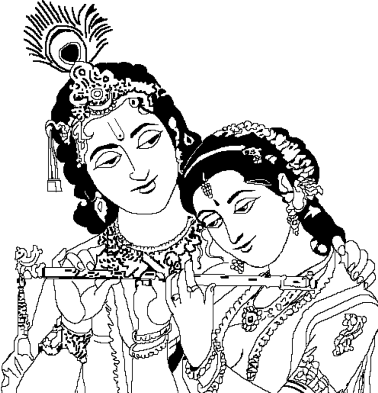 Gods clipart radha krishna #1 in 2019.