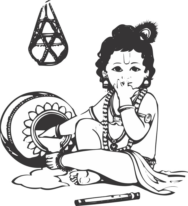 Lord krishna clipart 4 » Clipart Station.