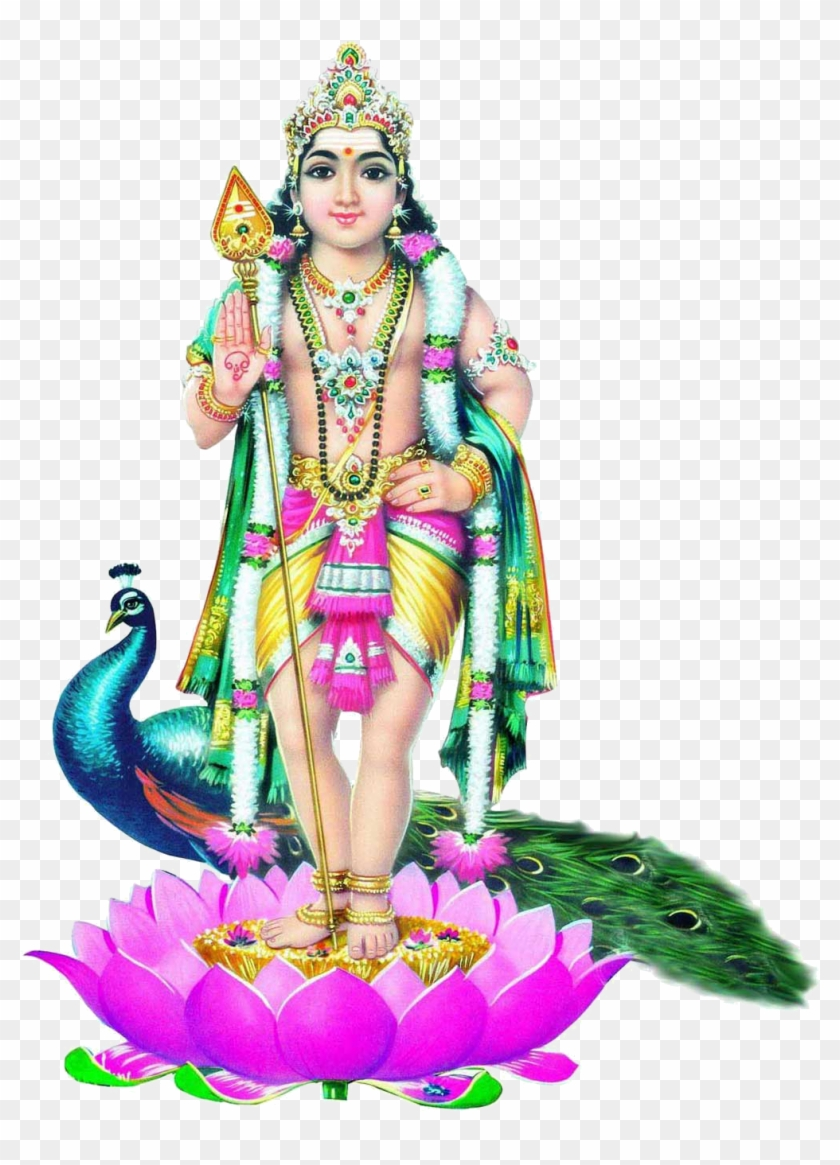 God Murugan, HD Png Download.