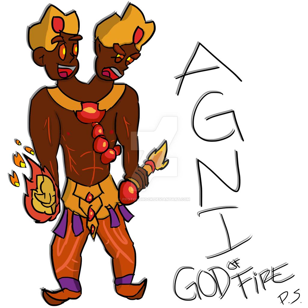 Cartoon Version of AGNI.