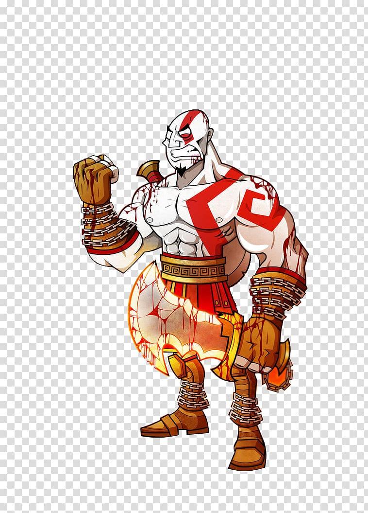 God of War PlayStation 4 Cartoon PlayStation 3 Kratos, god.