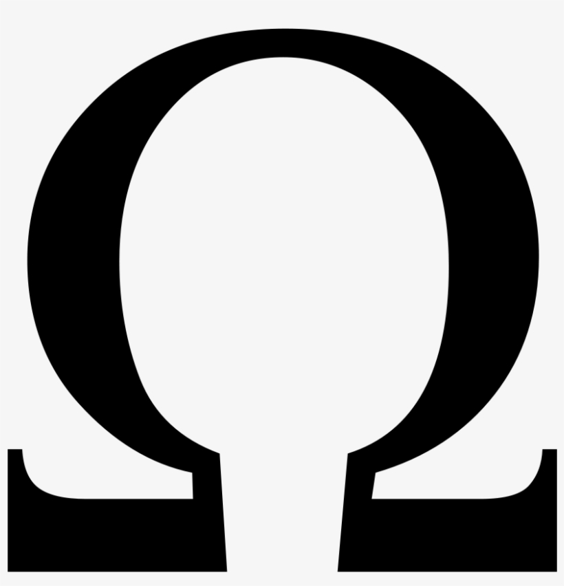 God Of War Omega Symbol Png Clipart Black And White.
