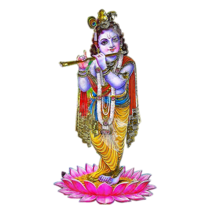 Krishna God PNG.
