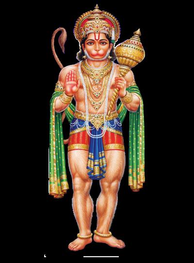 Hindu God Abhaya Anjaneya Swamy Hd Png P #18348.