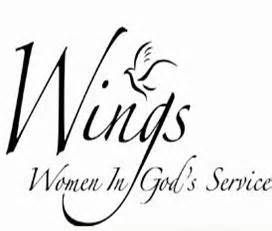 ladies serving god clip art.