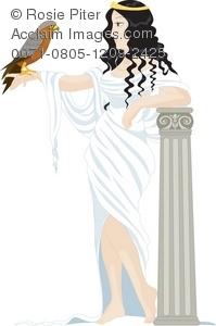 Greek Goddess Clipart.