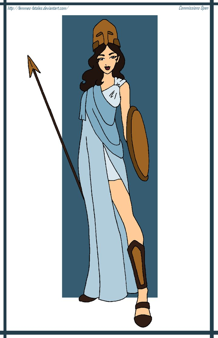 Athena Goddess of Wisdom Picture, Athena Goddess of Wisdom Image.