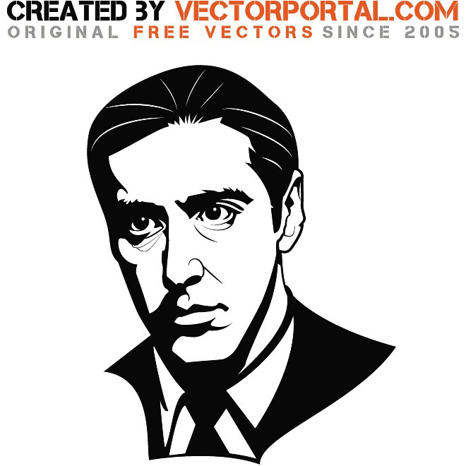 The Godfather Clip Art Free.