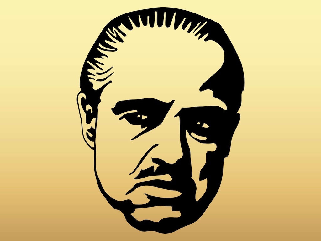 Godfather movie clipart.