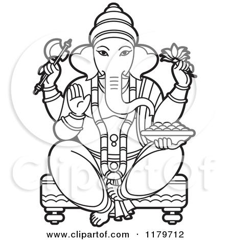 Clipart hindu god image.