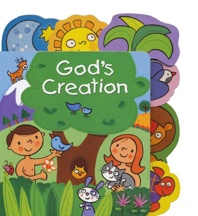 God's Creation Tabbed Board Book.