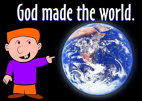 Similiar God Created The Earth Clip Art Keywords.