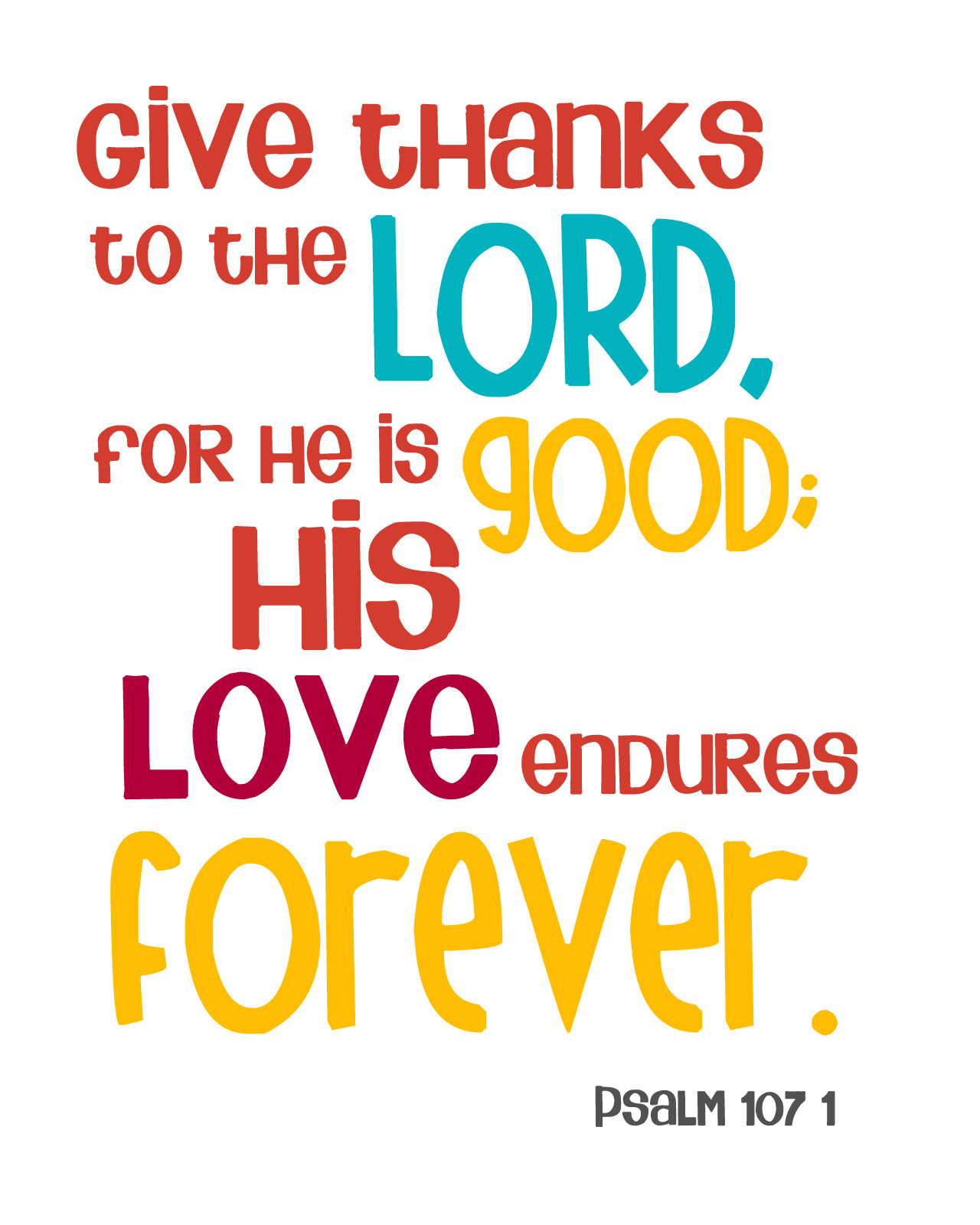 Bible verse of gods love clipart.