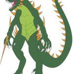 Cool Godzilla Clip Art Picture.