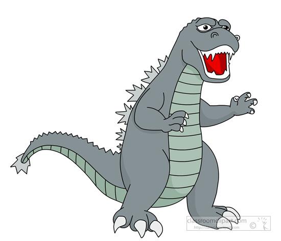 Godzilla Clipart.