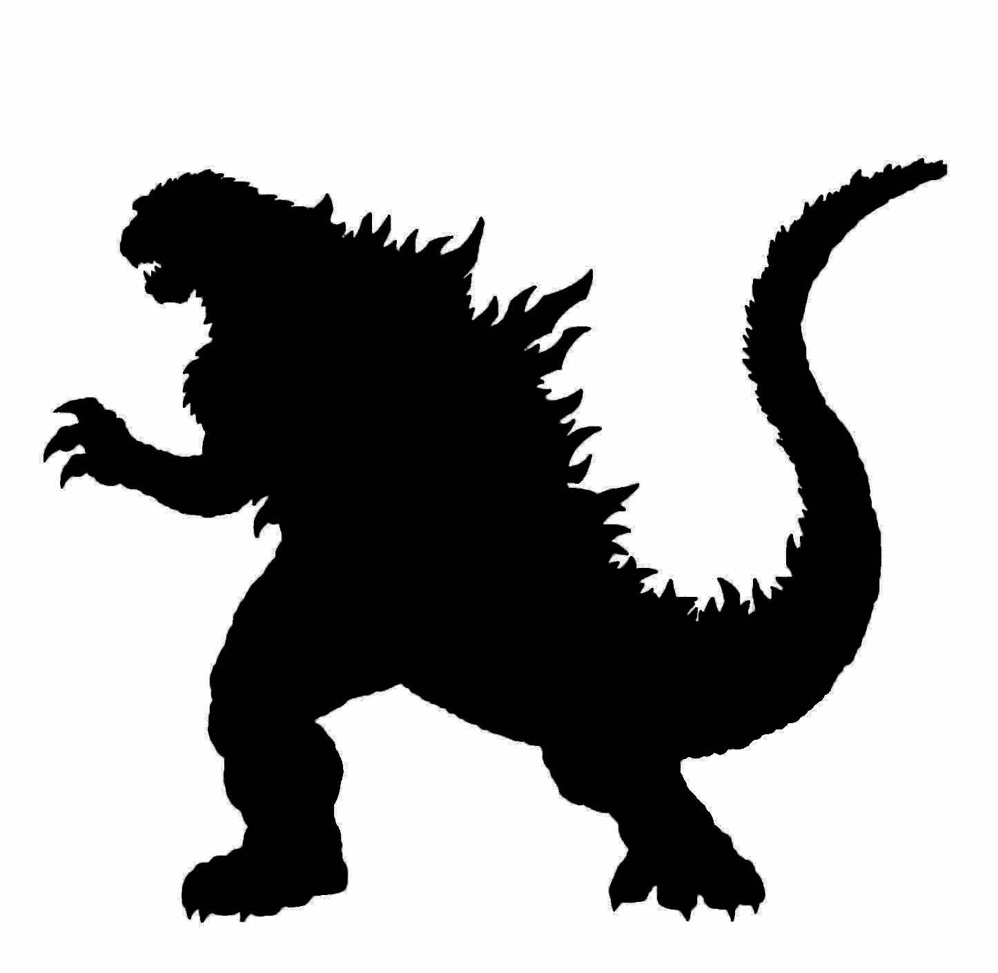 Godzilla clip art.