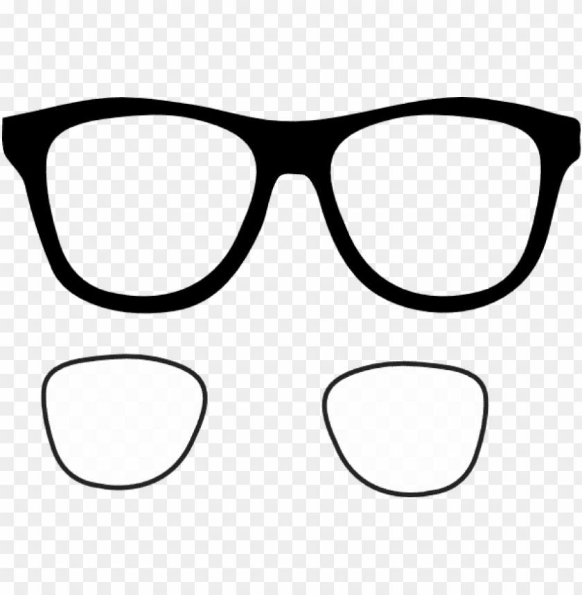 free png download glasses frames clipart png images.