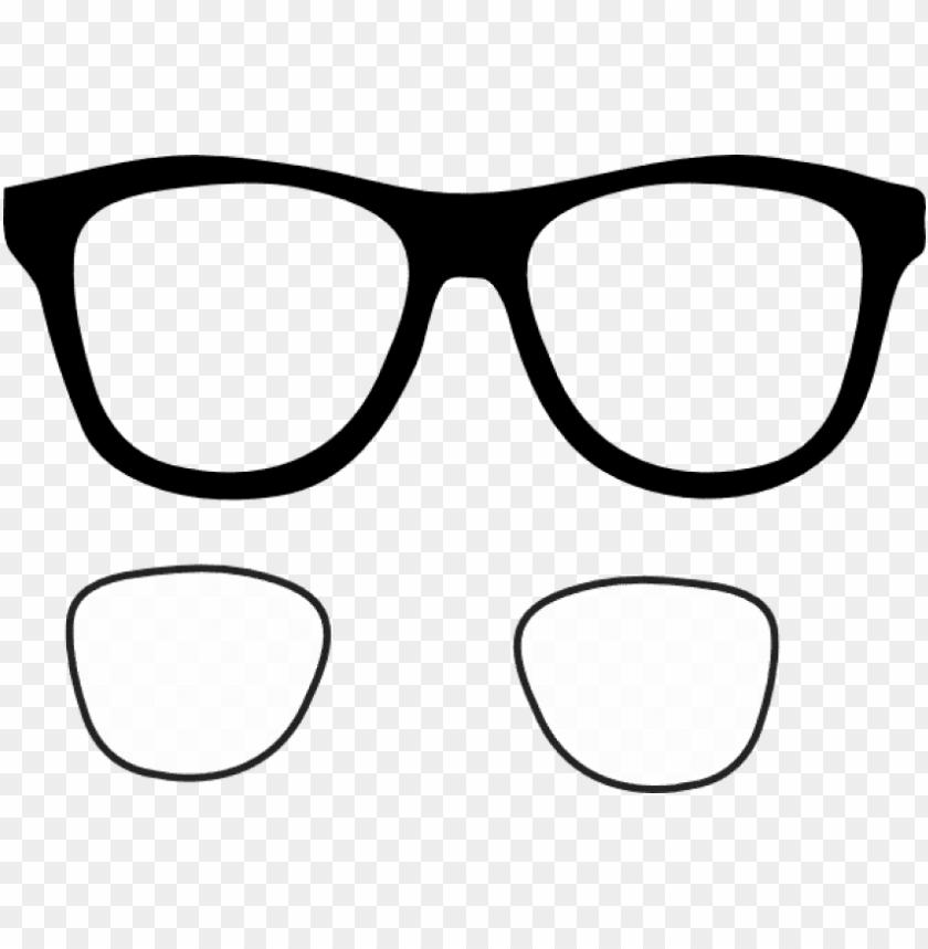free png download glasses frames clipart png images.