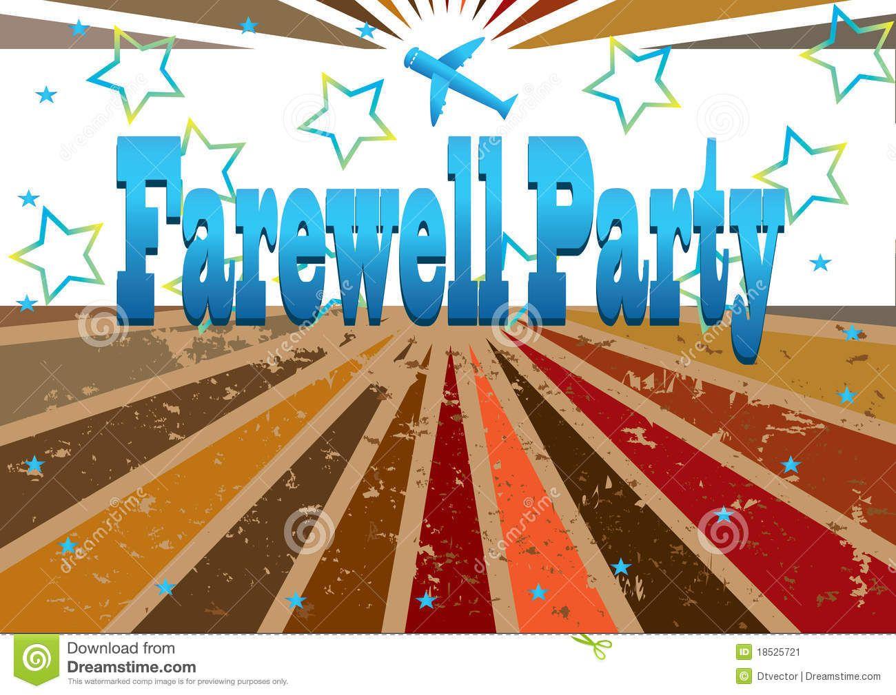 GOOD BYE PARTY.
