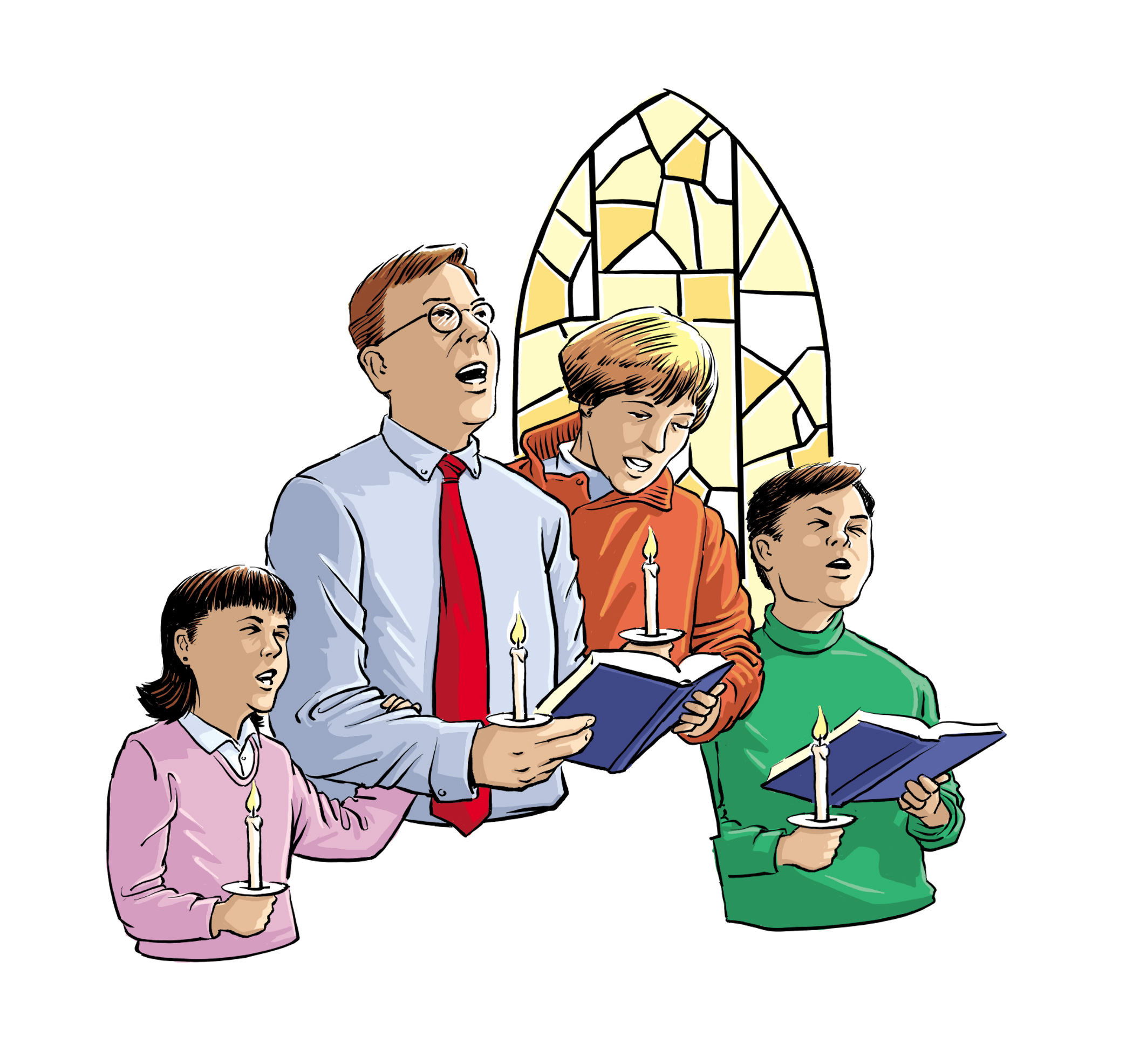 Going To Church Clipart.