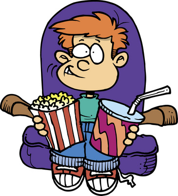 Go to the movies clipart 6 » Clipart Station.