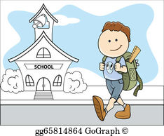 Going To School Clip Art.