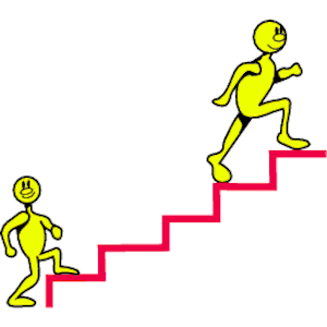 Going Up Stairs Clip Art.