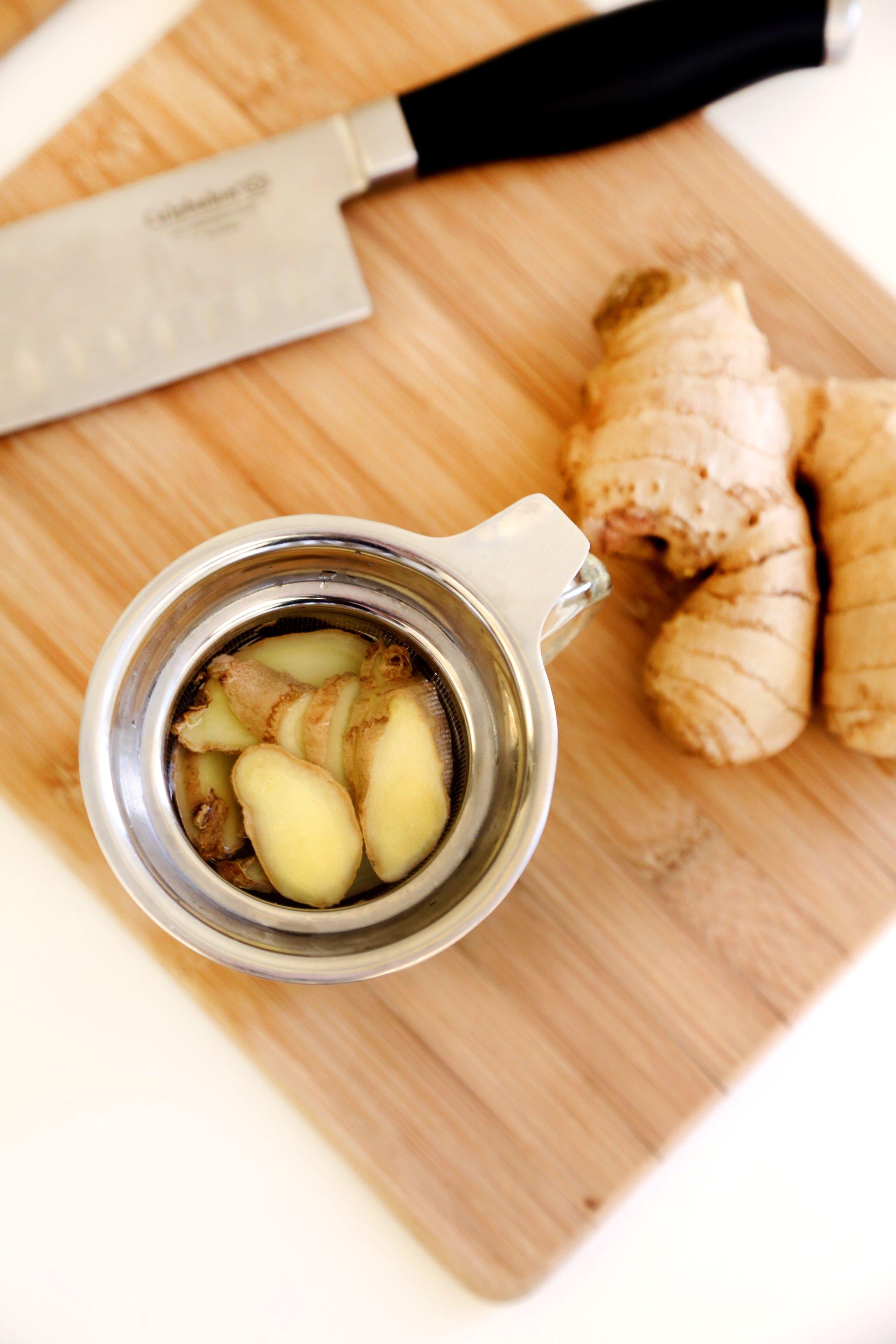 Ginger Tea Recipe.