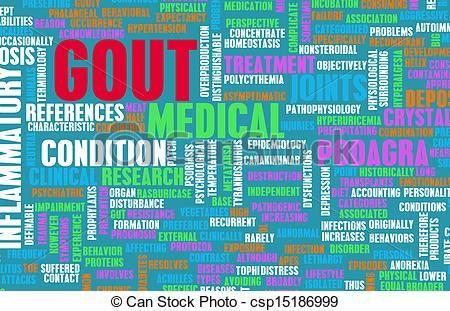Gout Clip Art.