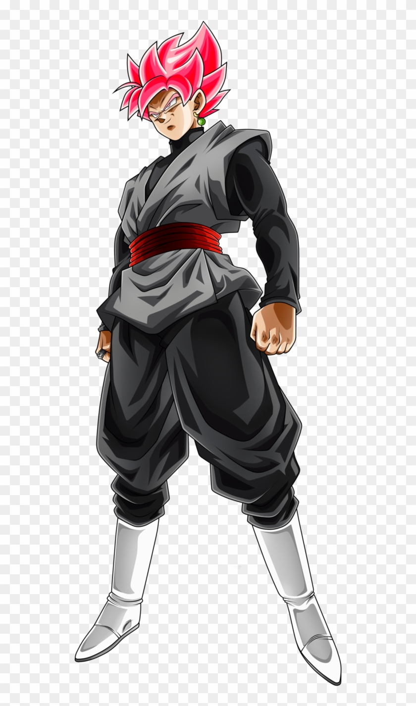 Goku Black Rose Png.