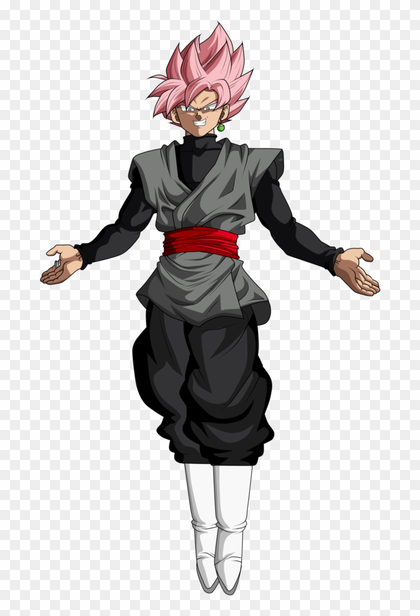 Goku Black Rose Png.