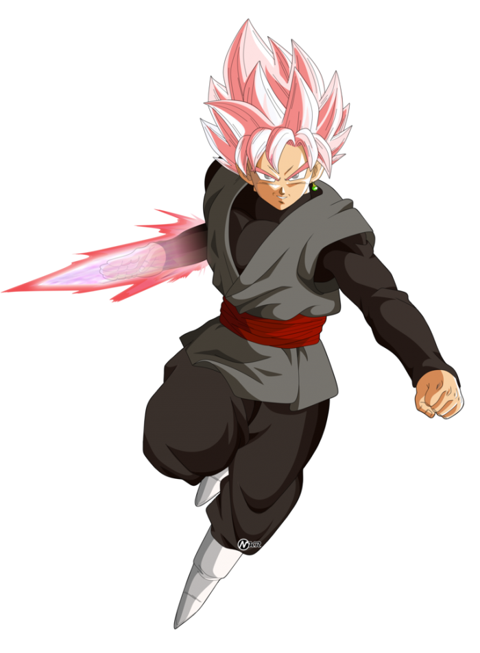 Goku Black Rose Png Vector, Clipart, PSD.