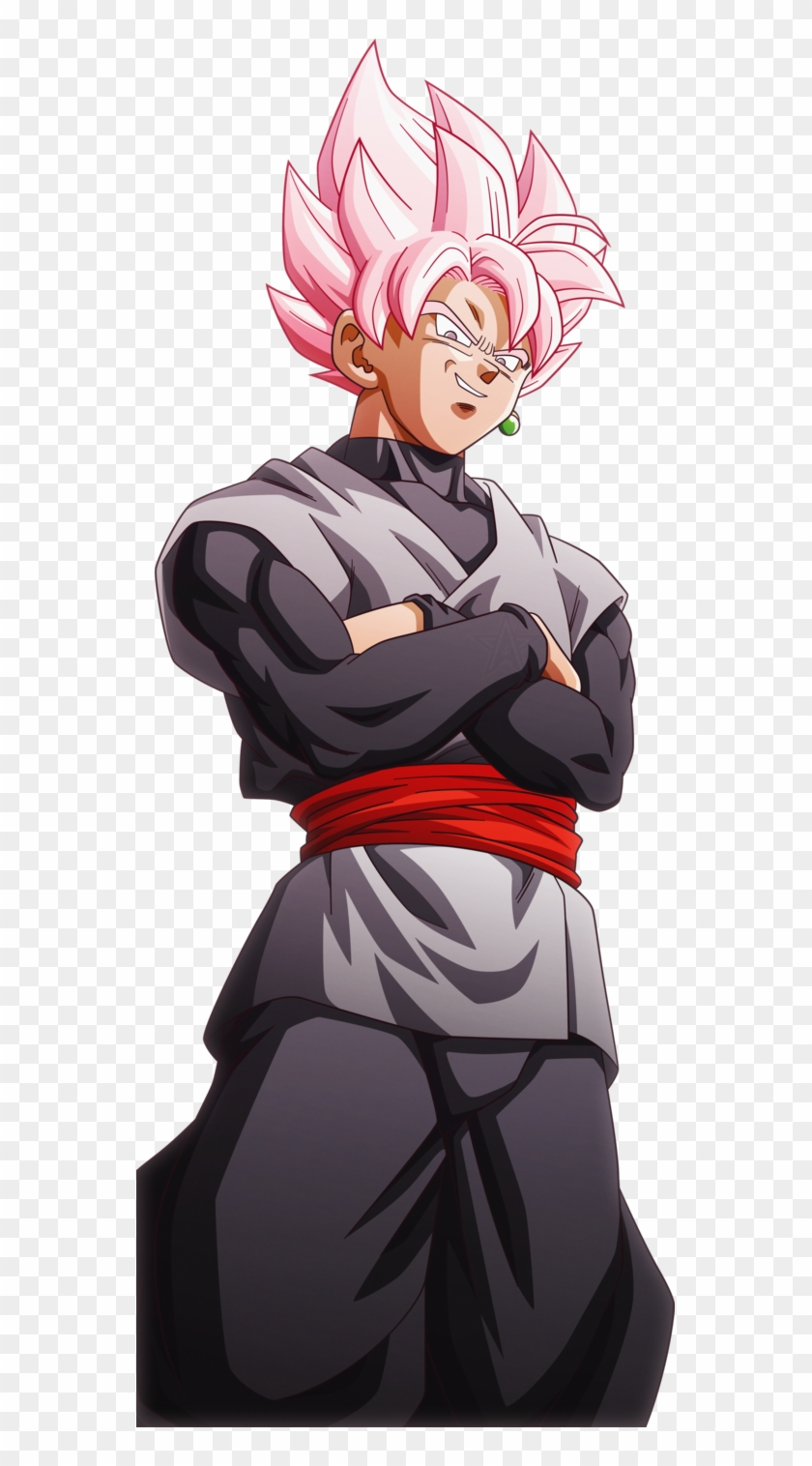 Super Saiyan Rose Goku Black.