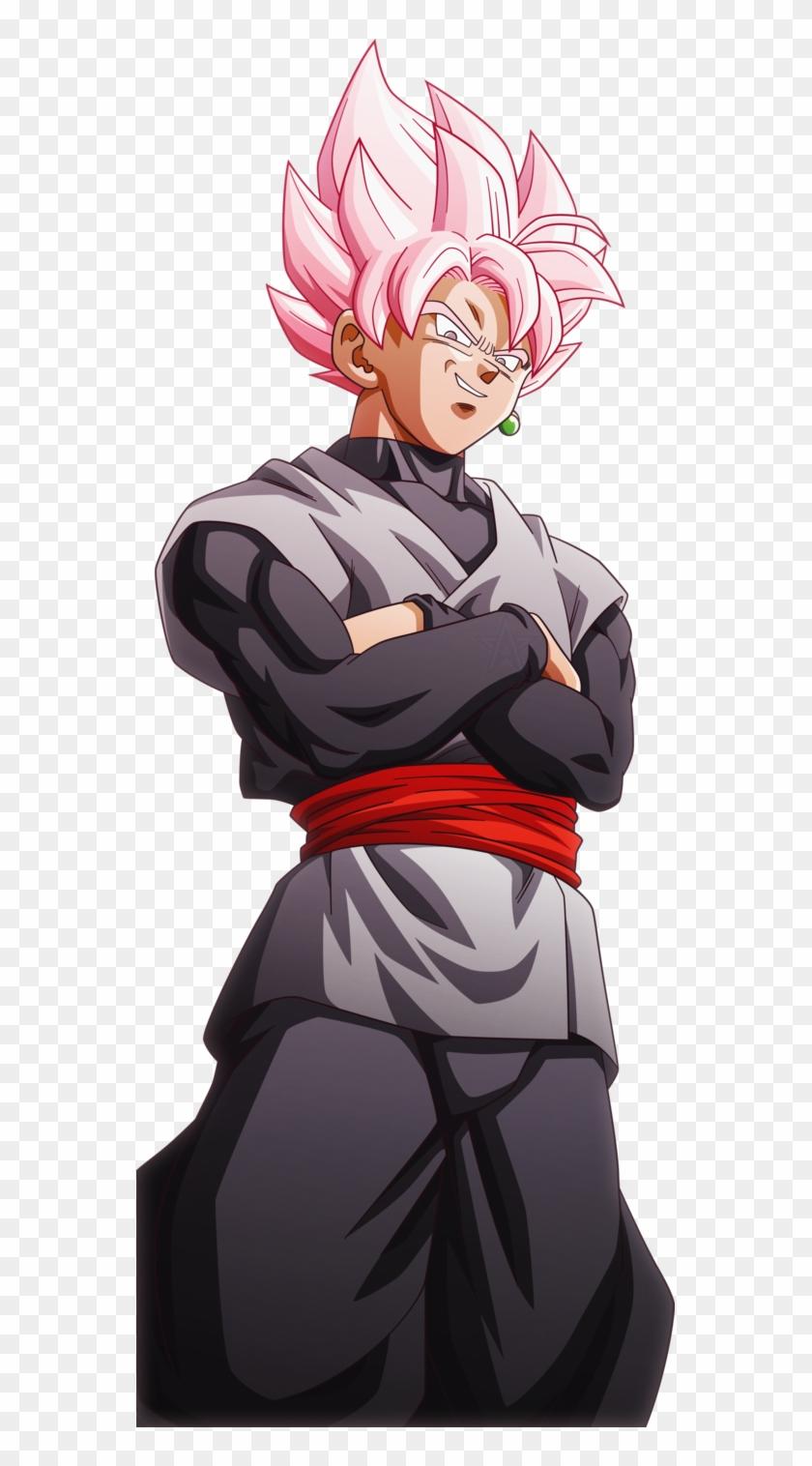 Super Saiyan Rose Goku Black.