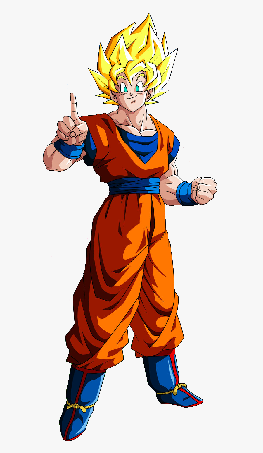 Transparent Goku Clipart.
