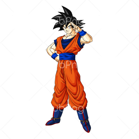 clipart goku png Transparent Background Image for Free.