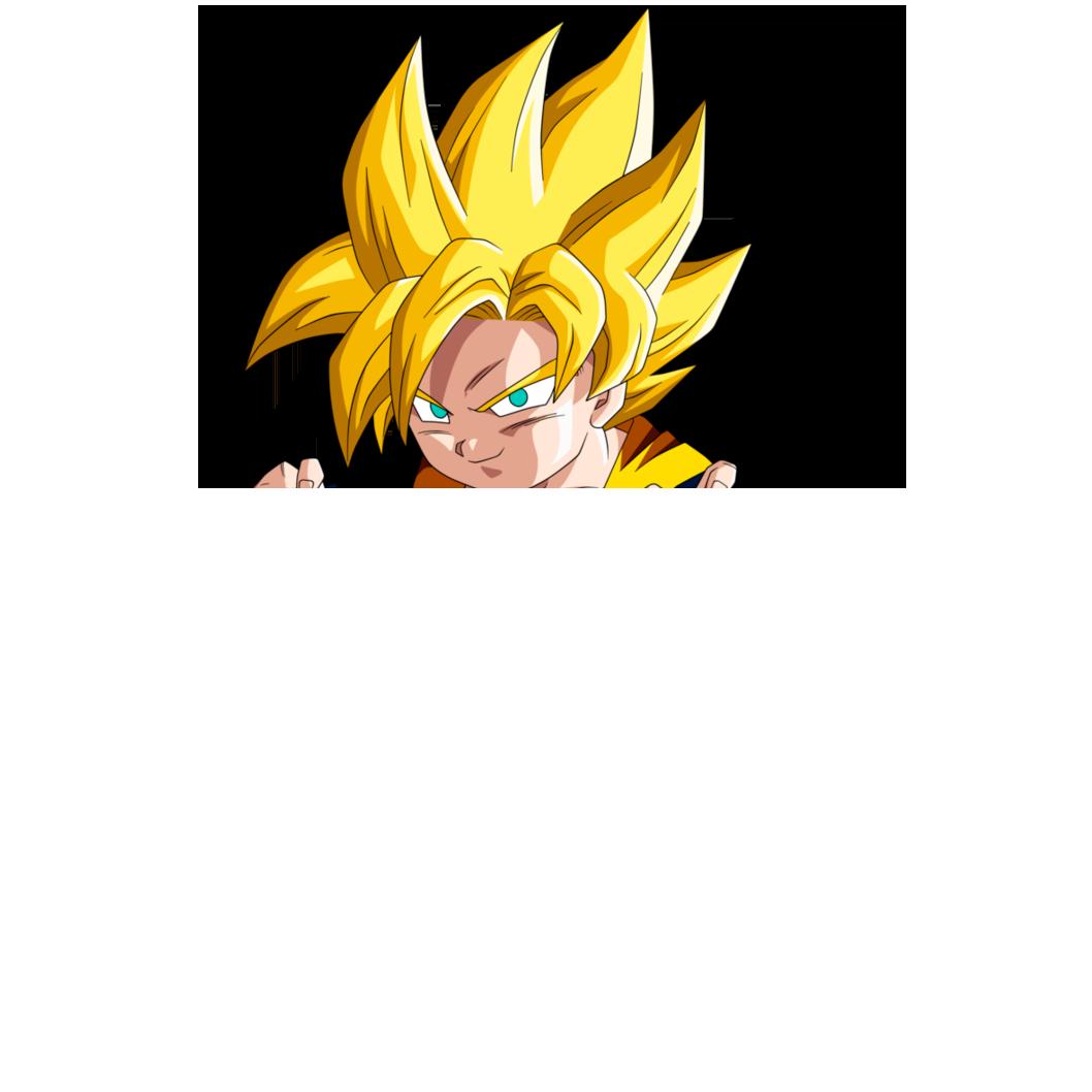 Goku hair.