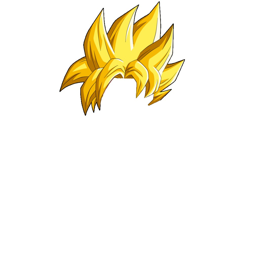 Saiyan Hair Png images collection for free download.