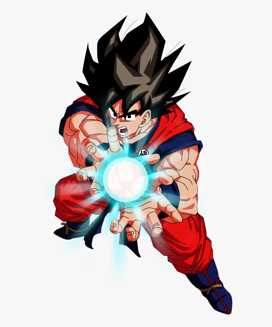 Transparent Goku Kamehameha Png.