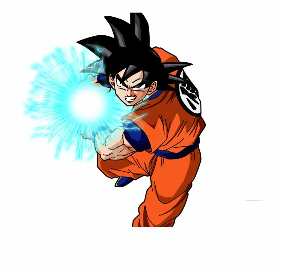 Son Goku Kamehameha Png.