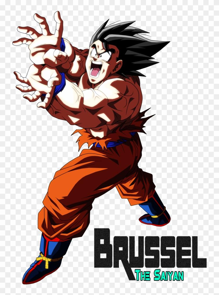Son Goku Kamehameha By Brusselthesaiyan, HD Png Download.
