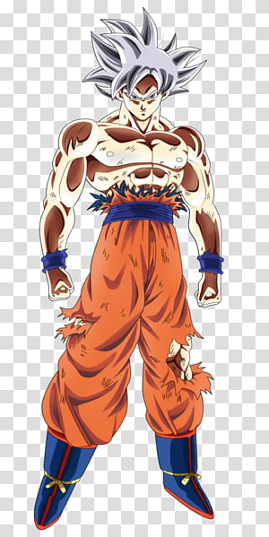 Goku Perfect Migatte no Gokui transparent background PNG.
