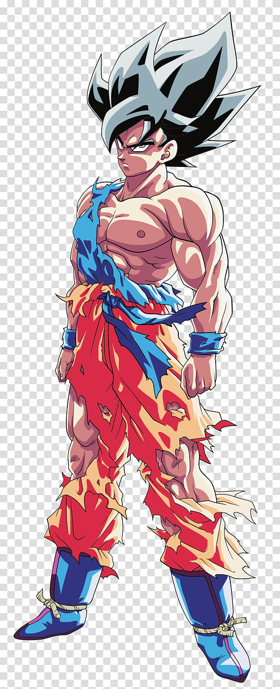 Goku SSJ (Namek), Ultra Instinct Palette # transparent.
