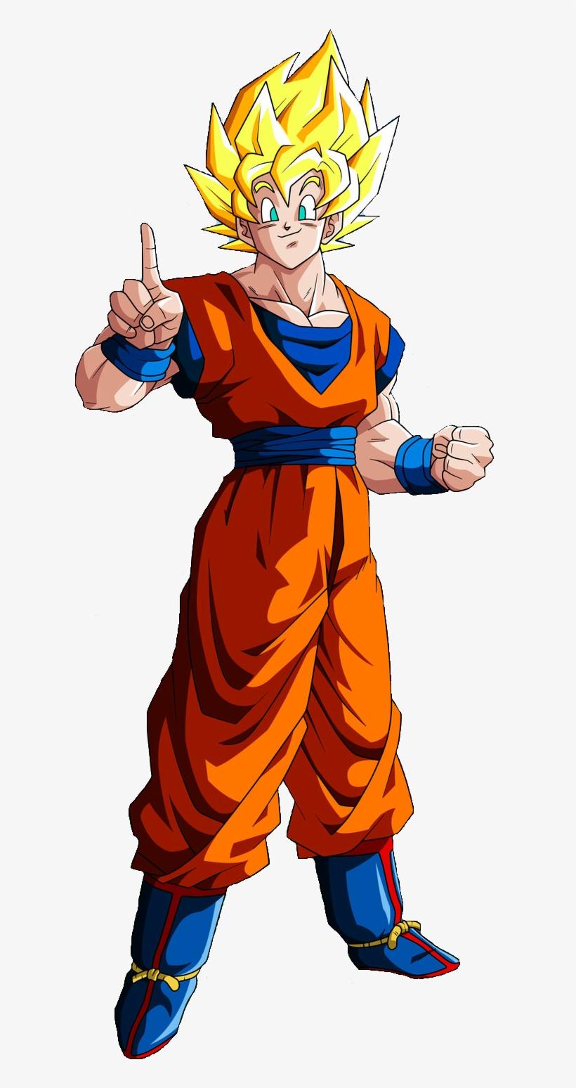 Goku Clipart Full Body.